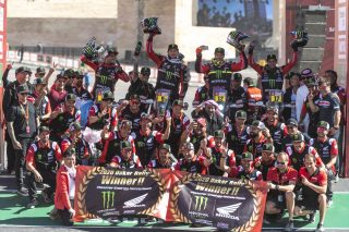 Brabec 2020 Dakar winner Monster Energy Honda Team